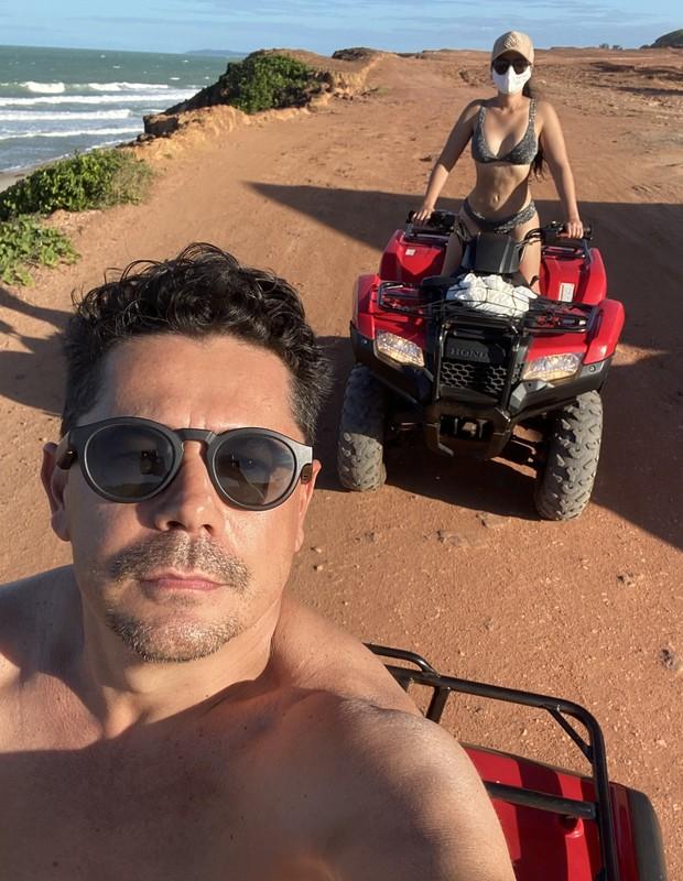 Maraisa e Fabrício Marques (Foto: Reprodução/Twitter)
