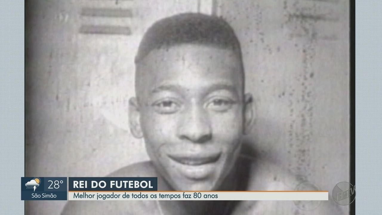 Pelé, Rei do Futebol, completa 80 anos nesta sexta-feira (23)