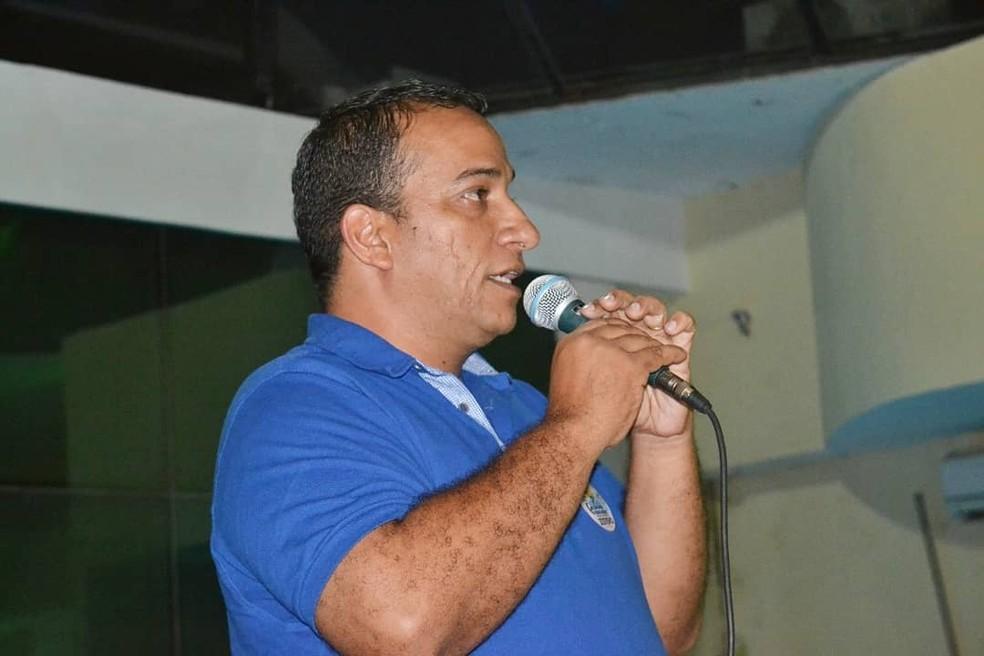 Tenente-coronel André Luis Fernandes, da PM do Rio Grande do Norte, foi candidato a deputado no estado — Foto: Reprodução/Redes sociais