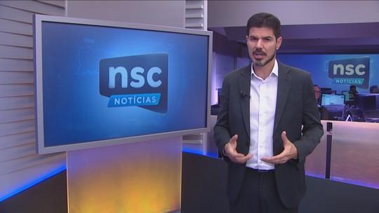 VÍDEOS: NSC Notícias de quarta, 21 de agosto