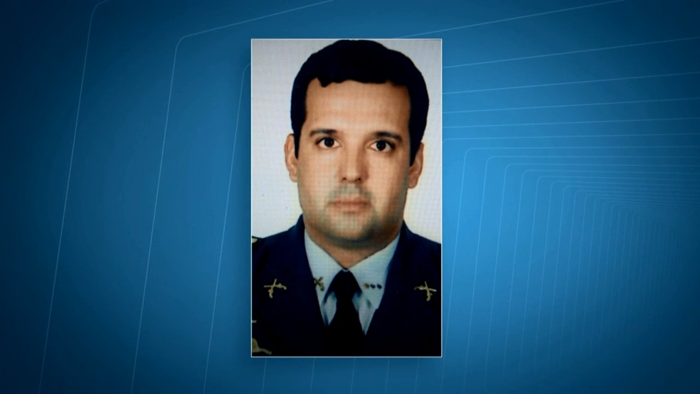 Tenente-coronel da Polícia Militar do DF Marcello Toledo Rodrigues — Foto: Reprodução