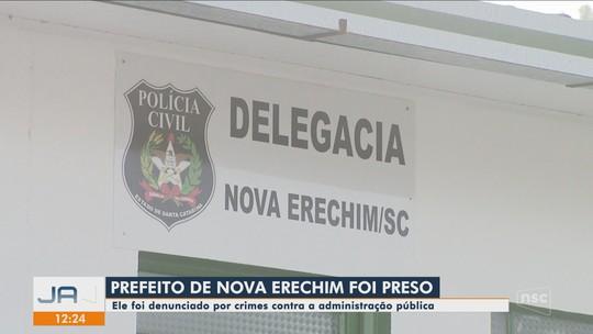 Prefeito de Nova Erechim é preso suspeito de crimes contra a administração pública