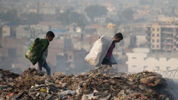Assim como o Brasil, a Índia é um país onde há grande desigualdade social (Foto: AFP)