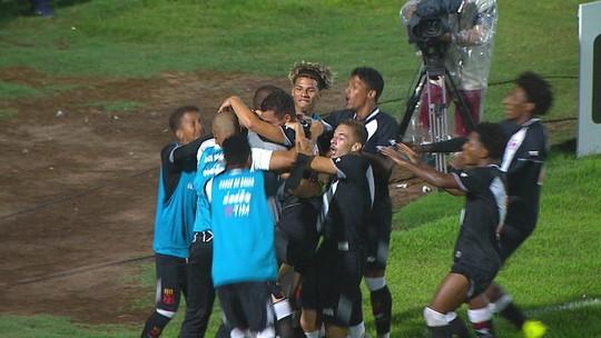 Melhores momentos: Coritiba 0 x 3 Vasco pela Copa SP de futebol júnior