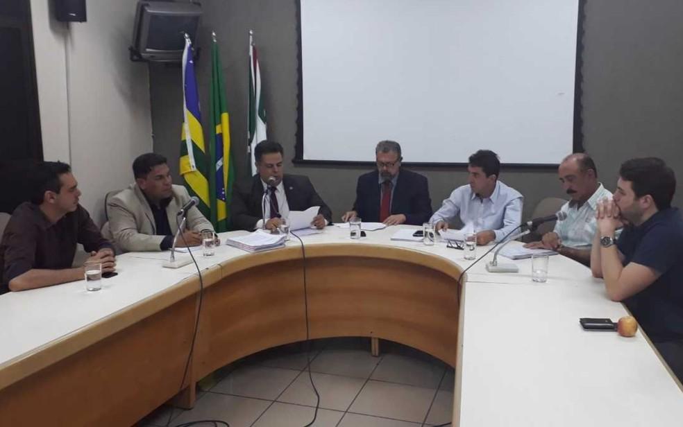 CEI da SMT aprova relatório final que aponta prejuízo de R$ 52 milhões por irregularidades (Foto: Vanessa Martins/G1)