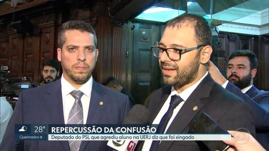 Deputados do PSL são alvos de representações após confusão na UERJ