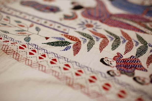 Arte asiática no MON (Foto: Divulgação)
