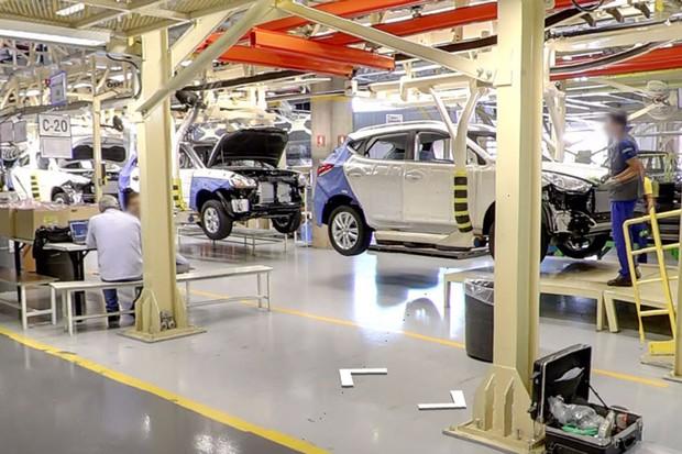 Hyundai Caoa cria ferramenta de tour virtual pela fábrica de Anápolis (Foto: Reprodução)