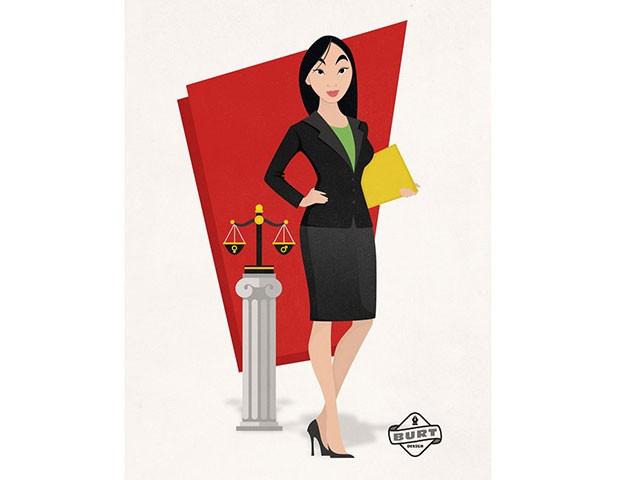 Mulan é uma importante promotora. Ela luta pela igualdade de gênero nas universidades. (Foto: Reprodução / Matt Burt)