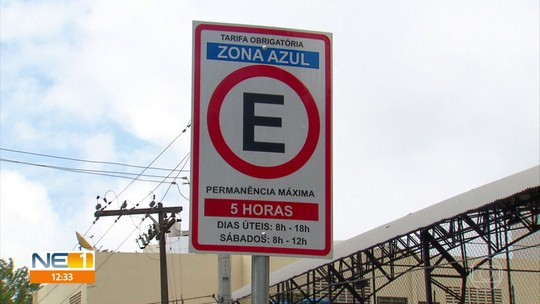 Vagas de Zona Azul são implantadas na Ilha do Leite, no Recife