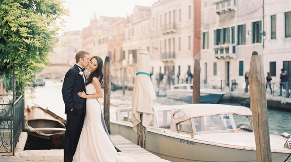 Casamento em Veneza: cidade italiana está entre os destinos preferidos dos noivos brasileiros (Foto: Pexels)