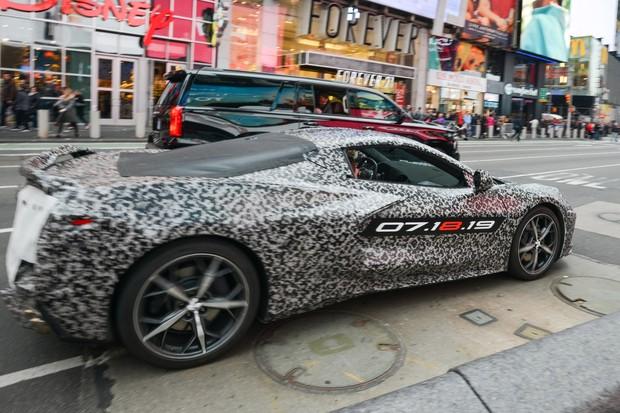 Chevrolet Corvette C8 2020 (Foto: Divulgação)