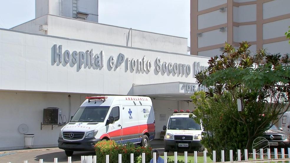 Pronto Socorro de Cuiabá — Foto: TVCA