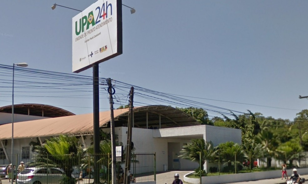 UPA da Caxangá fica na Zona Oeste do Recife — Foto: Reprodução/Google Street View