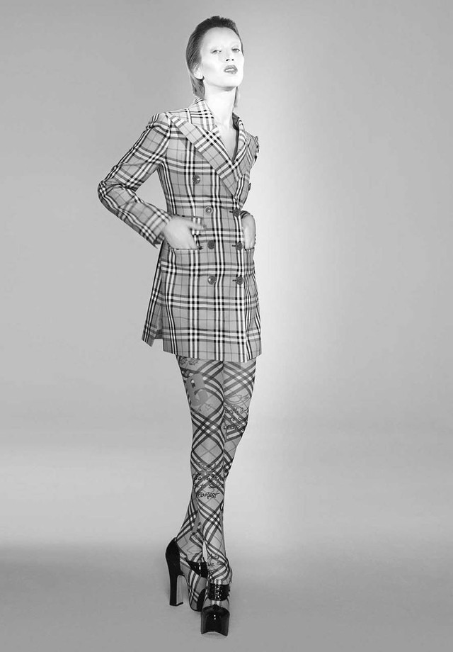 Burberry x Vivienne Westwood (Foto: Divulgação)