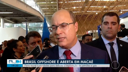 Witzel participa da abertura da Brasil Offshore e fala sobre importância de atrair mais refinarias para o RJ