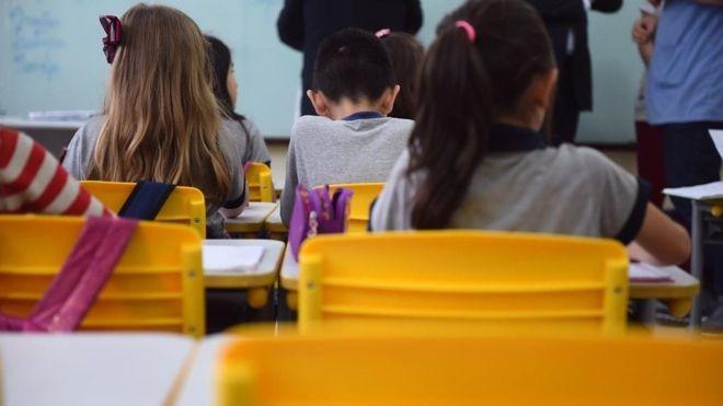 Fundo que financia educação pública é uma das questões urgentes a serem resolvidas pelo MEC (Foto: ANDRÉ NERY/MEC via BBC News Brasil)