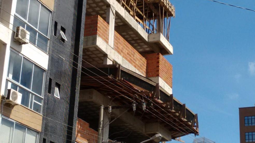 Construção  — Foto: Ricardo Welbert/G1/Arquivo