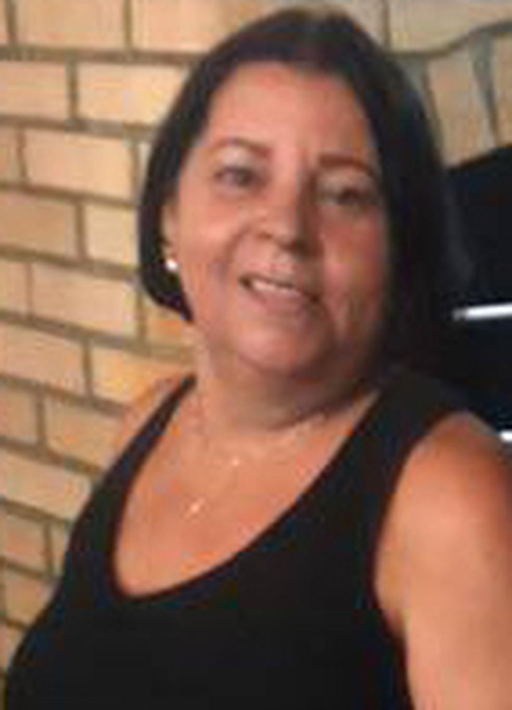 Maria Fontes, mãe do PM morto em Caxias (Foto: Reprodução/Facebook)