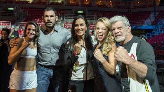 Jeiza disputa cinturão do UFC com Poliana Botelho no último capítulo de 'A Força do Querer'