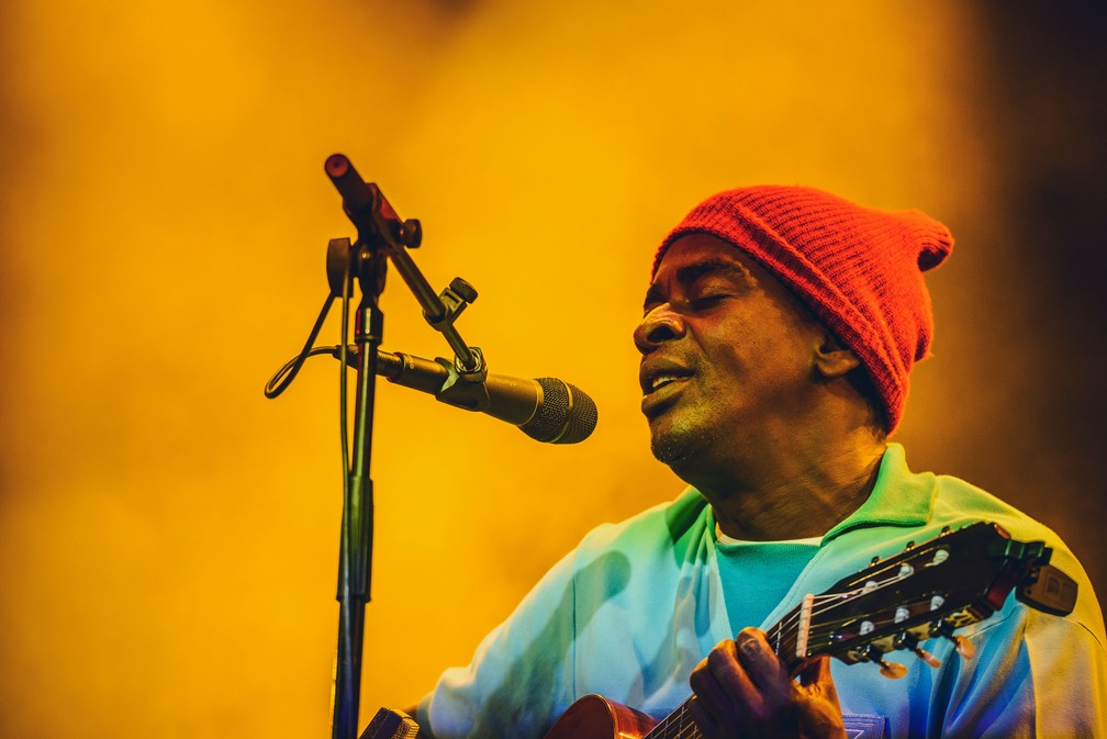Seu Jorge toca no Primavera Sound em Barcelona no sábado (3) (Foto: Red Bull Content Pool via Reuters)