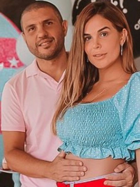 Robertha Portella e Bruno Coimbra (Foto: Reprodução)