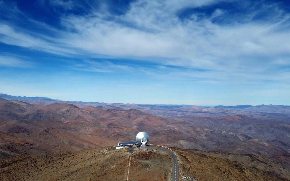 Vista do Observatório de La Silla, em Coquimbo. — Foto: Jorge Vega/Reuters