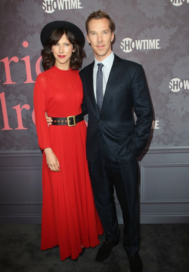 Sophie Hunter e Benedict Cumberbatch. (Foto: Getty Images)