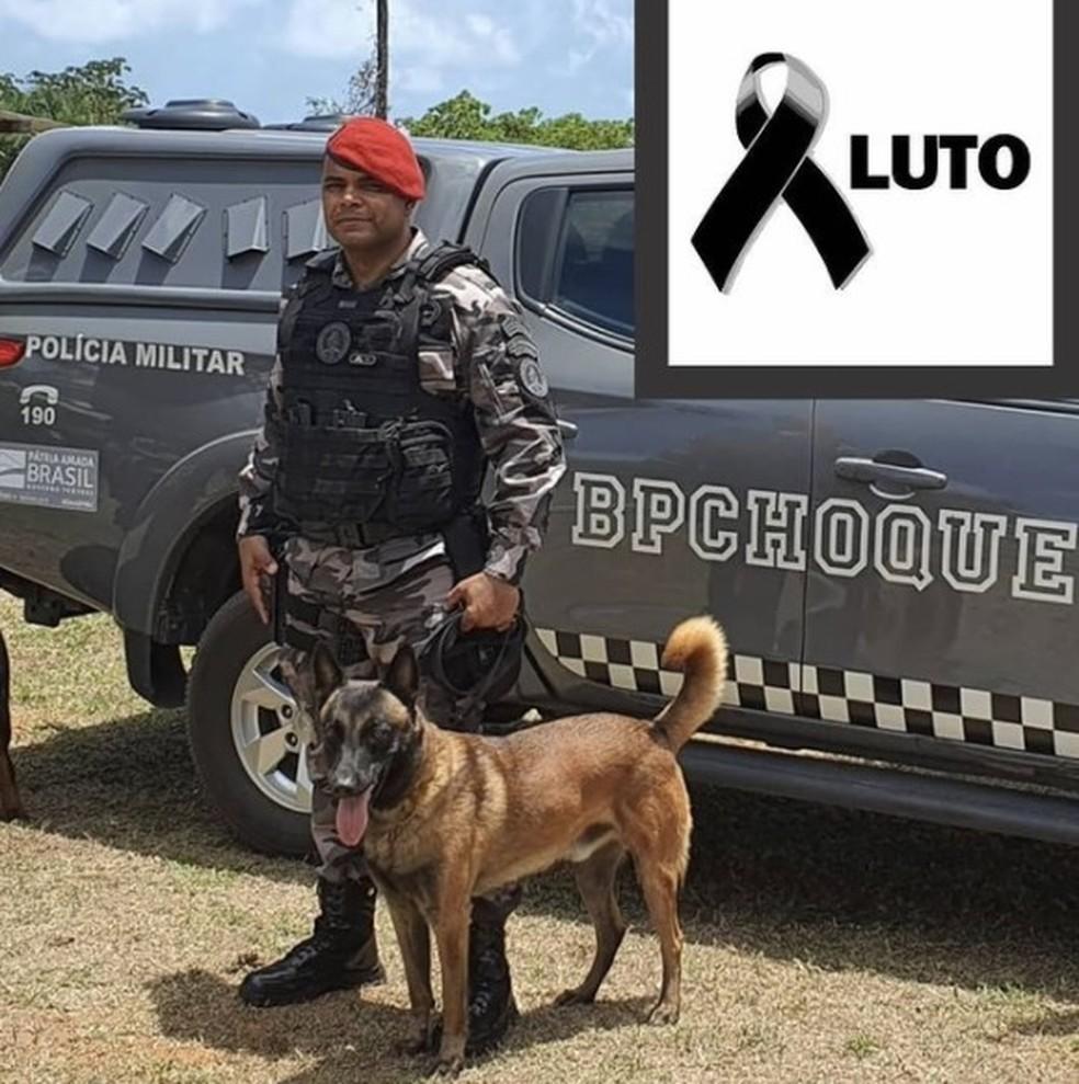 Sargento Diogo Aryelton foi morto a tiros em Camurupim, Nísia Floresta, RN — Foto: Divulgação