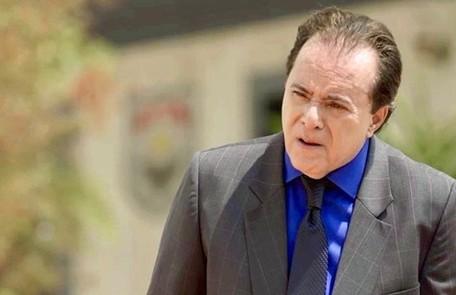 No sábado (4) Olavo mandará Sampaio prender Valentina após ela invadir a sua casa e tentar matá-lo TV Globo