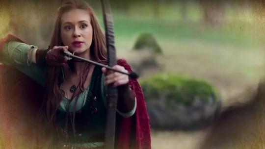 Virgílio conta a Amália que Catarina tentou matá-la duas vezes