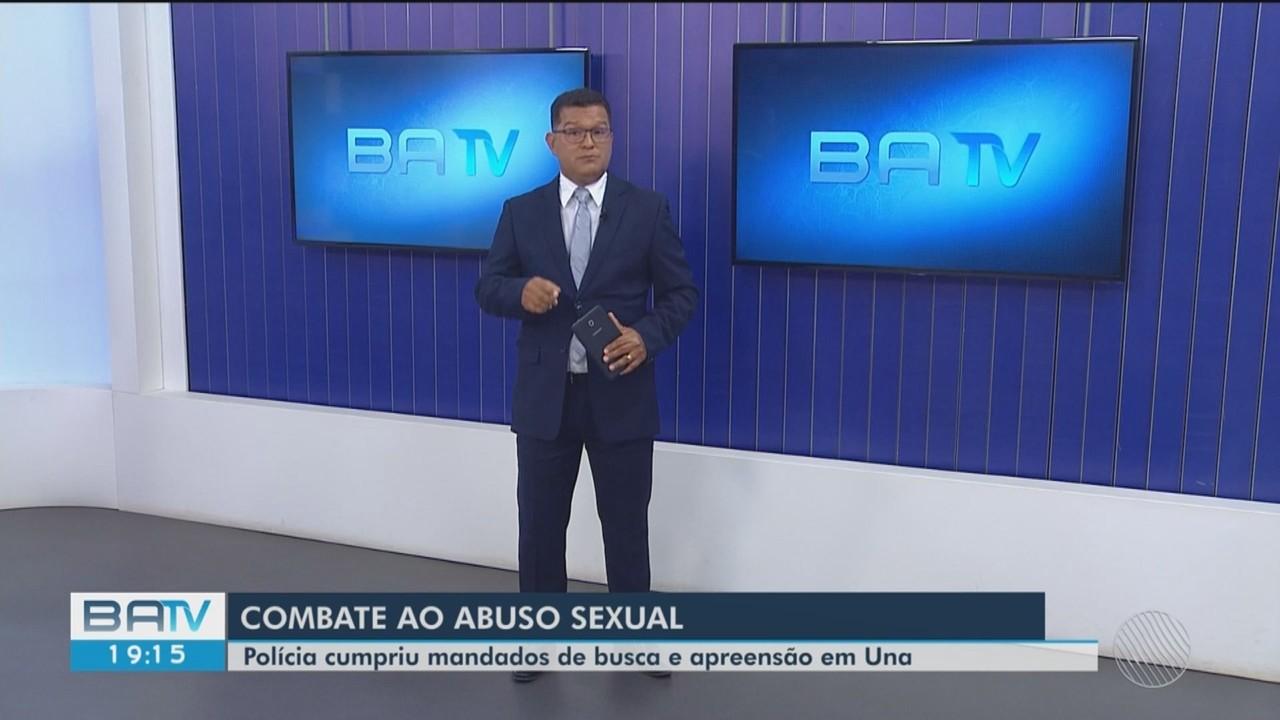 Polícia cumpre mandado de busca e apreensão contra crime sexual na Bahia