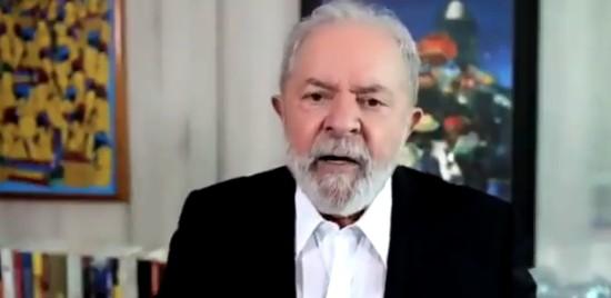 OO ex-presidente Lula em entrevista à jornalista Christiane Amanpour, da CNN dos EUA