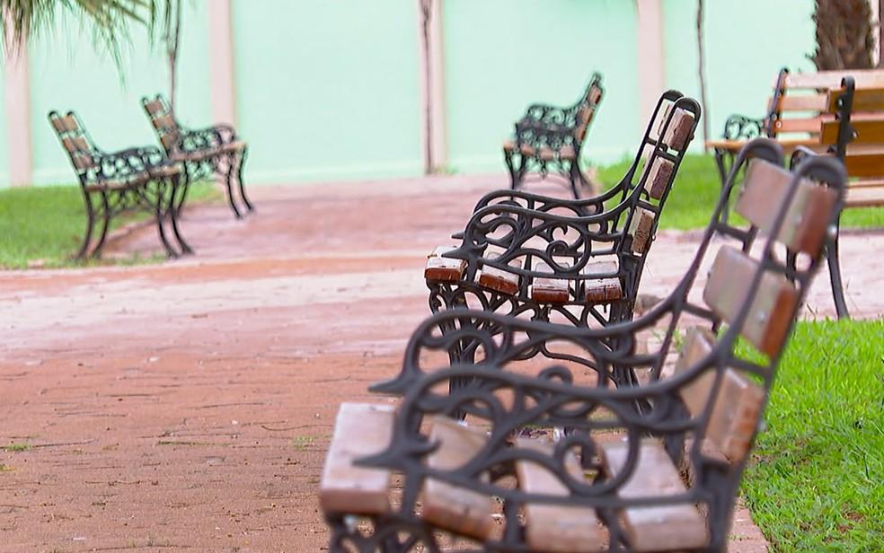 São Joaquim da Barra, SP, registra o melhor índice de isolamento social do estado de SP — Foto: Jefferson Severiano Neves/EPTV