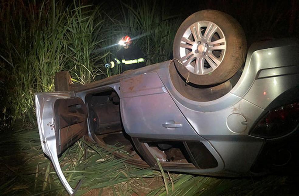 Homem de 32 anos seguia pela vicinal Abílio Eugênio quando sofreu o acidente — Foto: Assiscity/Divulgação