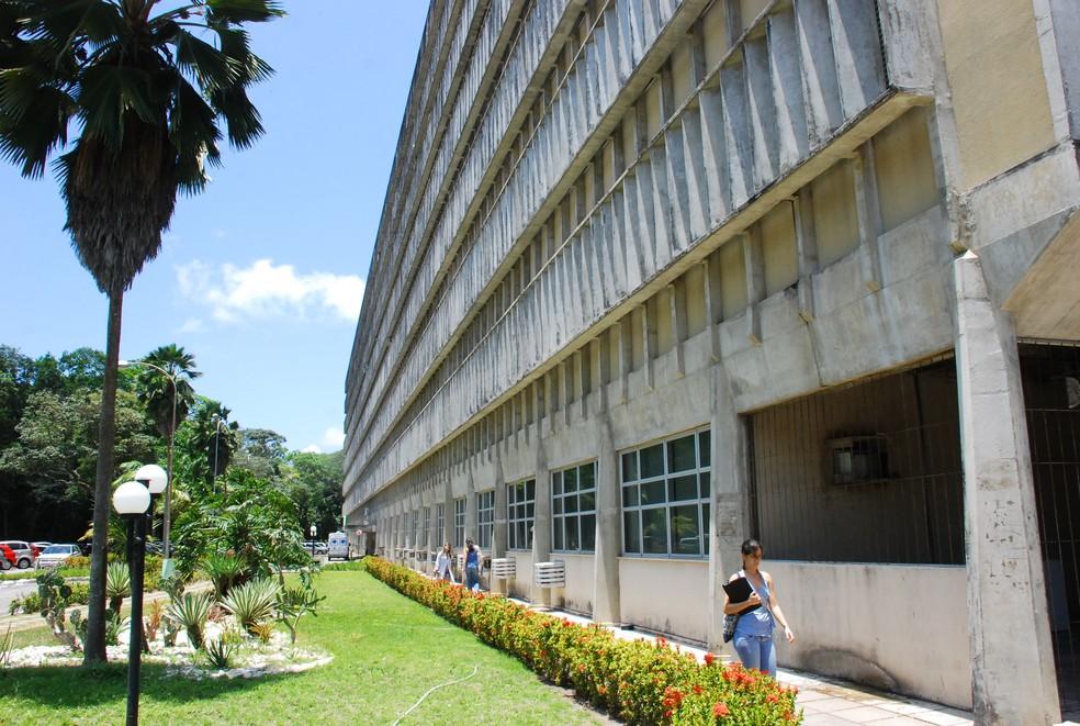Hospital Universitário Lauro Wanderley fica na Universidade Federal da Paraíba (UFPB) (Foto: Rizemberg Felipe/Jornal da Paraíba)