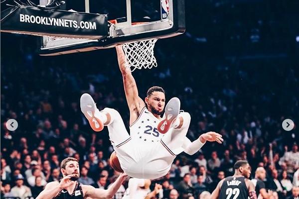 O jogador de basquete Ben Simmons (Foto: Instagram)