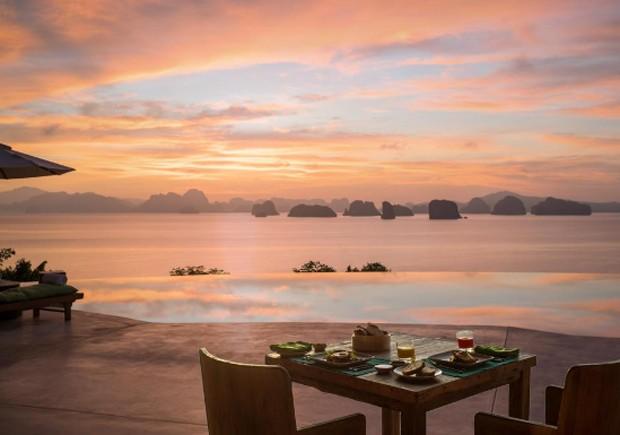 Hotel Six Senses na Tailândia (Foto: Divulgação/Reprodução)