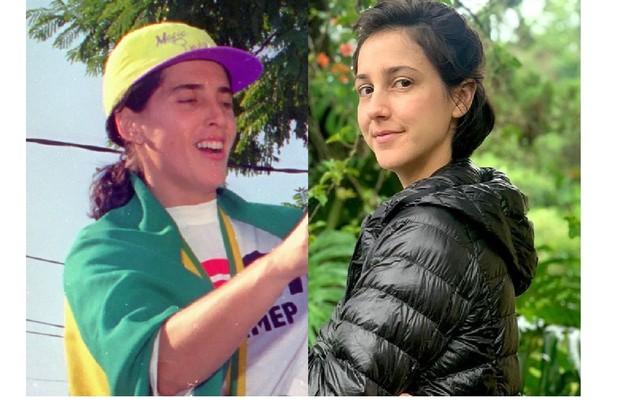 Magic Paula, medalhista brasileira de Basquete, será interpretada por Camila Márdila no cinema, no filme dirigido por Georgia Guerra (Foto: Daniel Augusto Júnior e Reprodução/Instagram)
