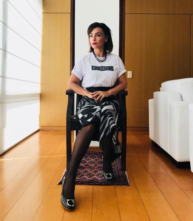 Suzana Pires fala sobre a importância da sororidade no trabalho (Foto: Arquivo pessoal)