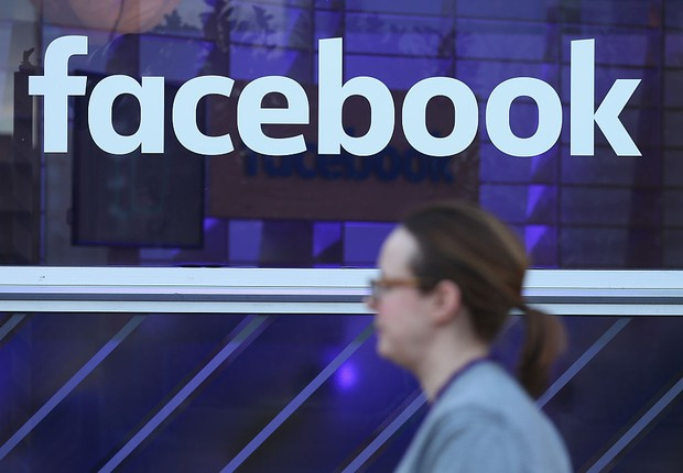 Logo do Facebook (Foto: Sean Gallup/Getty Images)