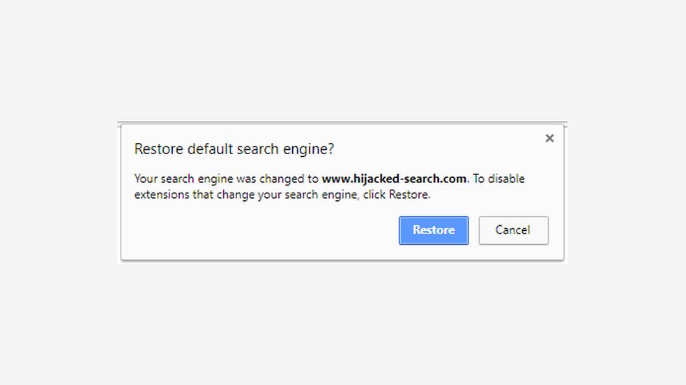 Chrome vai alertar sobre alterações indesejadas no navegador (Foto: Divulgação/Google)