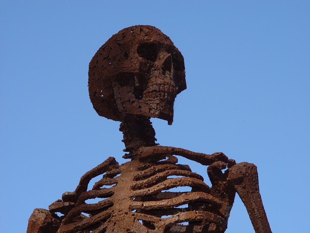 Acredita-se que os crânios datam do século 3 a.c (Foto: Franco Folini/ Flickr )