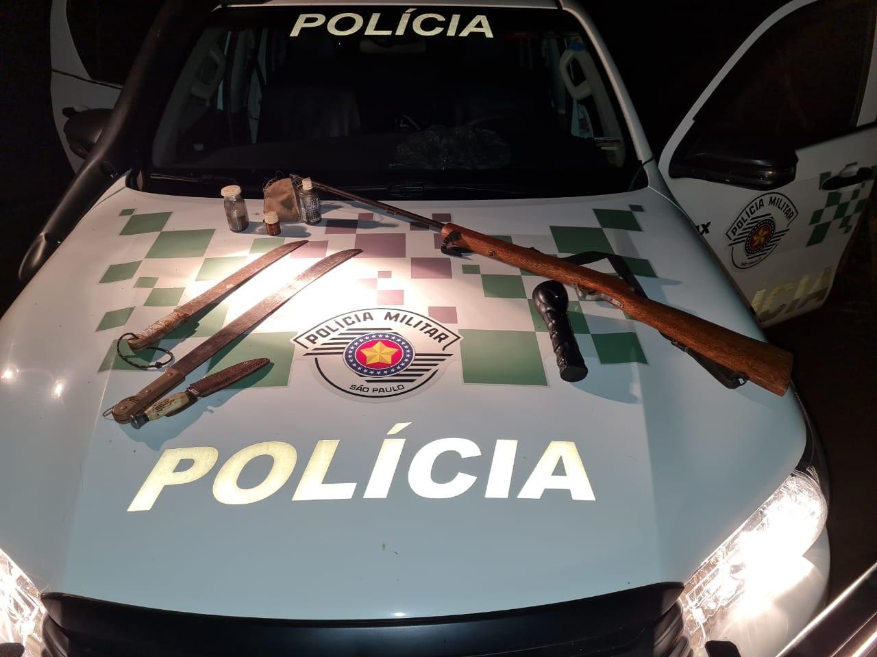 Três homens são presos e multados por suspeita de caça ilegal em Jaboticabal, SP