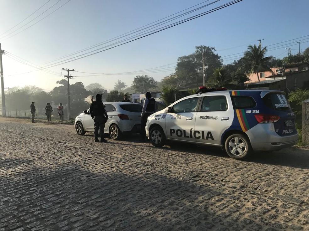 Operação Exício é realizada em Pernambuco nesta quinta-feira (23) — Foto: Polícia Civil/Divulgação