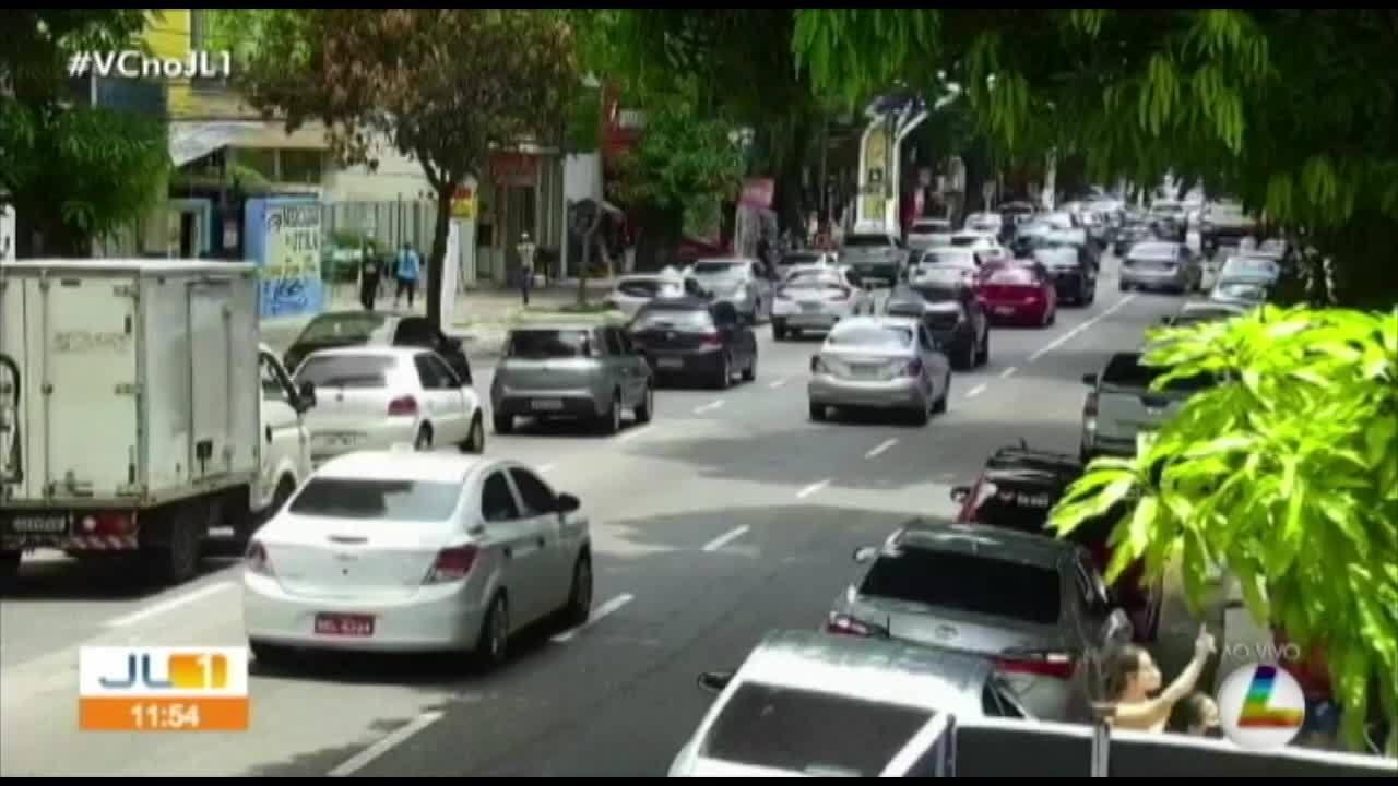 Quadro 'Radar' mostra o trânsito em Belém nesta segunda, 5