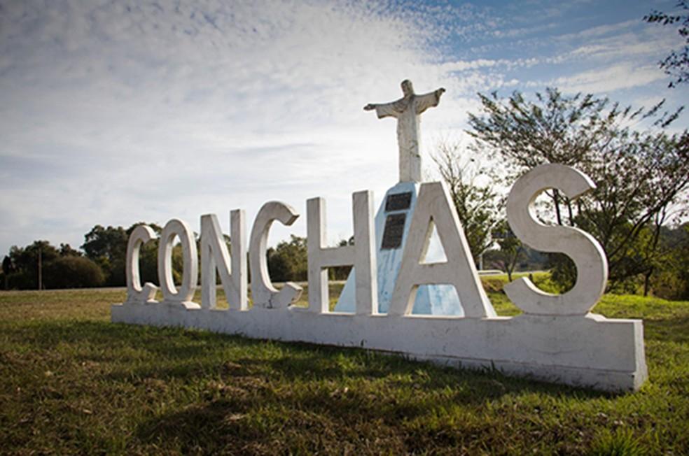 Conchas está entre as cidades que deverão recuar para a fase 2 do Plano São Paulo — Foto: Prefeitura de Conchas/Divulgação