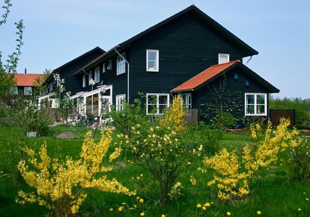 Descubra como é viver em Munksøgård, cohousing sustentável na Dinamarca  (Foto: Reprodução Facebook)