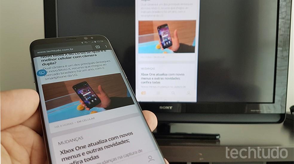 Como Espelhar A Tela Do Celular Samsung Na Tv Com