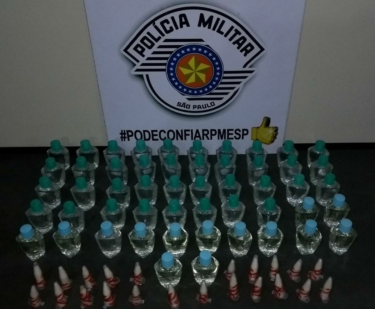 Polícia Militar apreende cocaína e lança-perfume em Itaquaquecetuba
